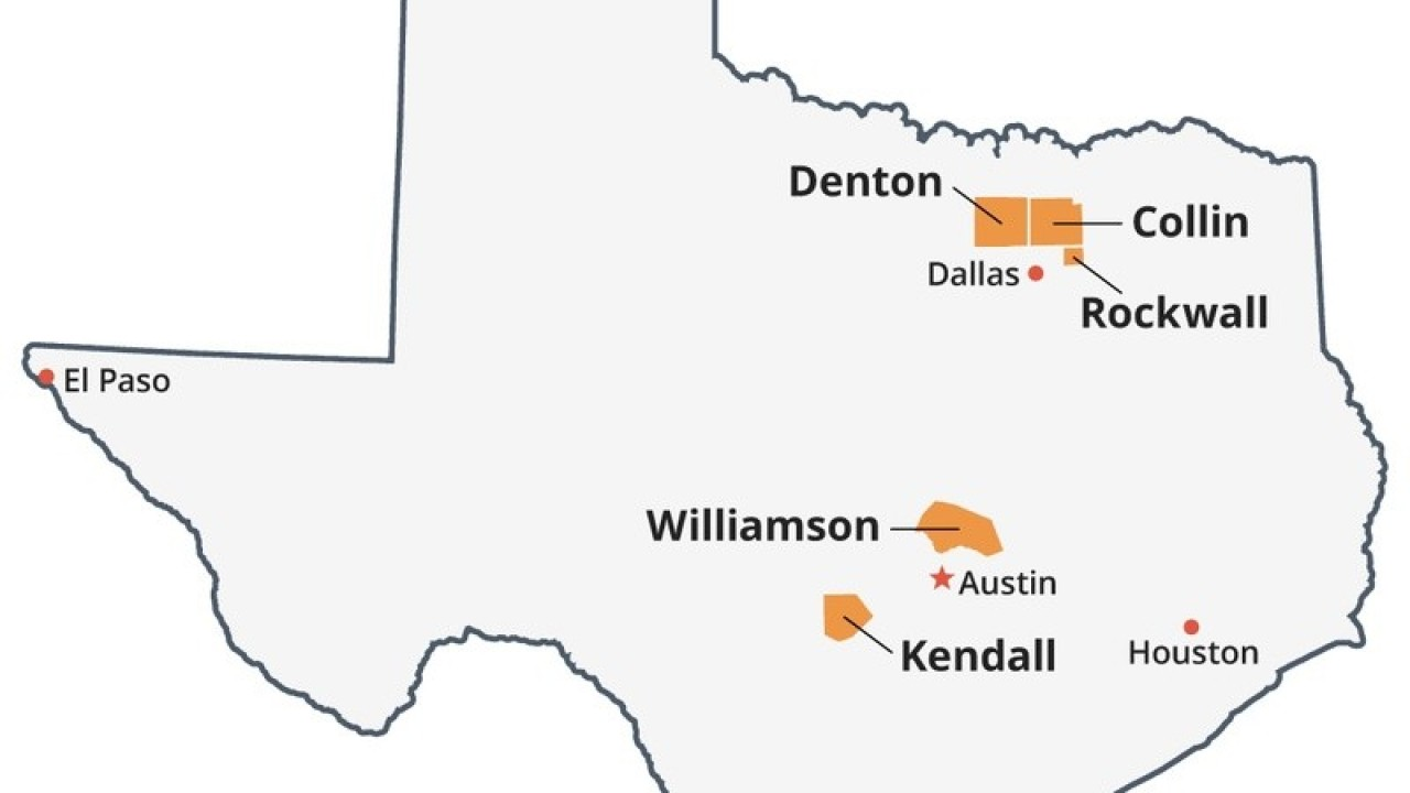 Data: Texas' top 5 poorest counties all located in the Rio Grande Valley