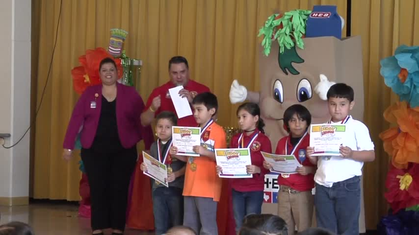 Elsa Elementary School Recognized for Anti-Bullying Campaign_08213072-159532