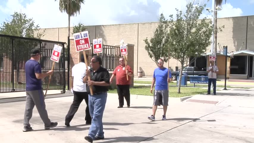 Employees Continue Second Day of Strike_29029060-159532