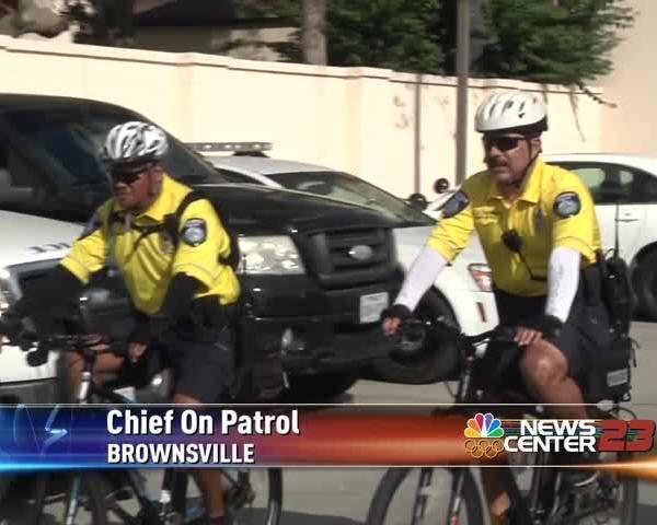 Valley Police Chief on Bike Patrol_18614274-159532