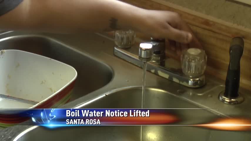 Santa Rosa Lifts Water Boil Notice_17947900-159532