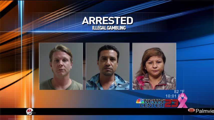 Three people arrested in 8-liner raid_35338776-159532