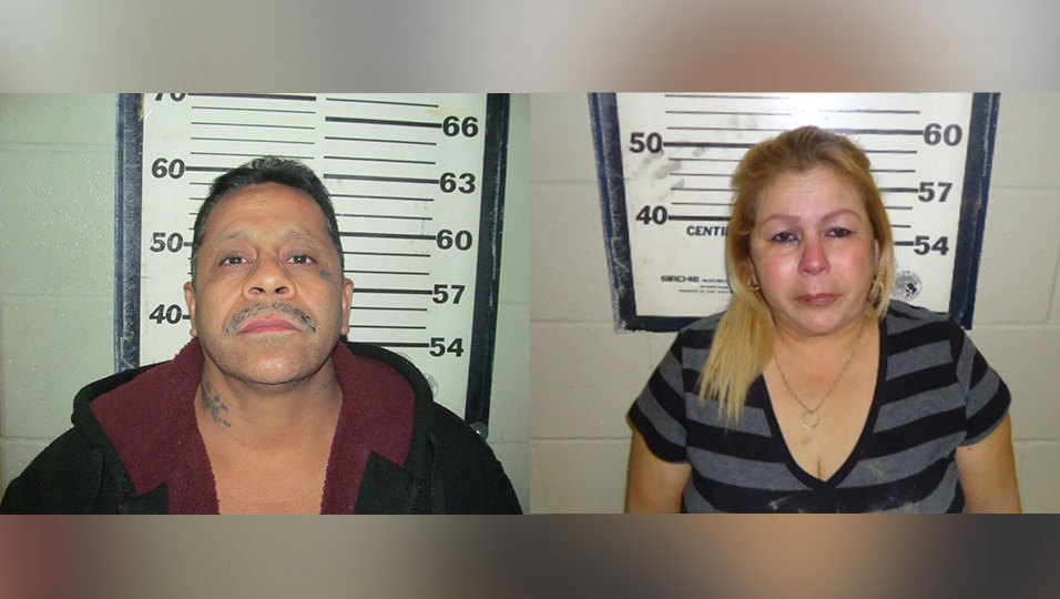 Two charged in aggravated sexual assault of woman found on