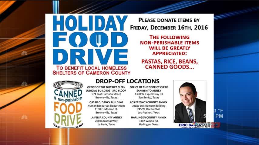 Cameron County Hosting Annual Food Drive- Needing Donations_62821877-159532