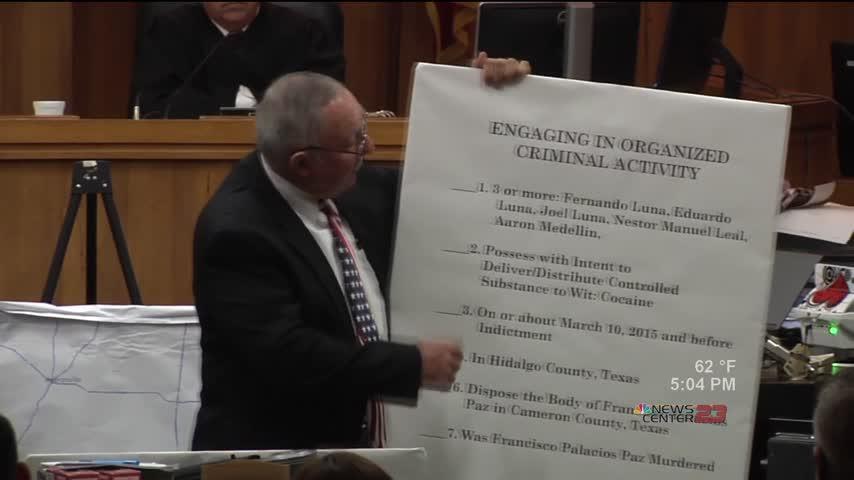 Attorneys Deliver Closing Statements in Joel Luna Trial_07141390