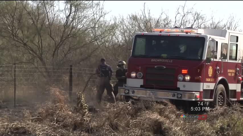 Dry Weather Conditions Key for Brush Fires_88126334