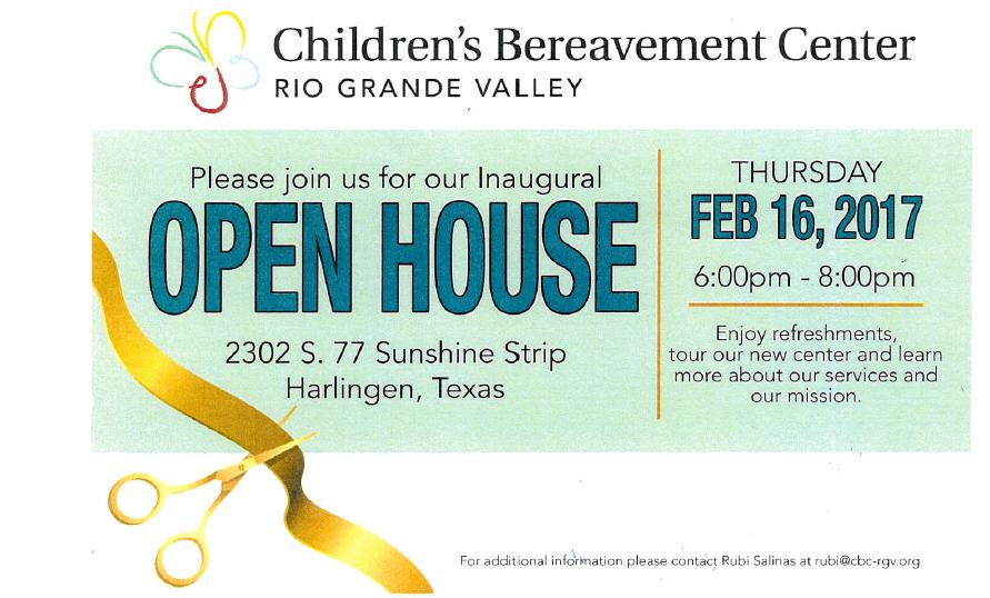 Children's Bereavement Center Open House_1487275955726.png