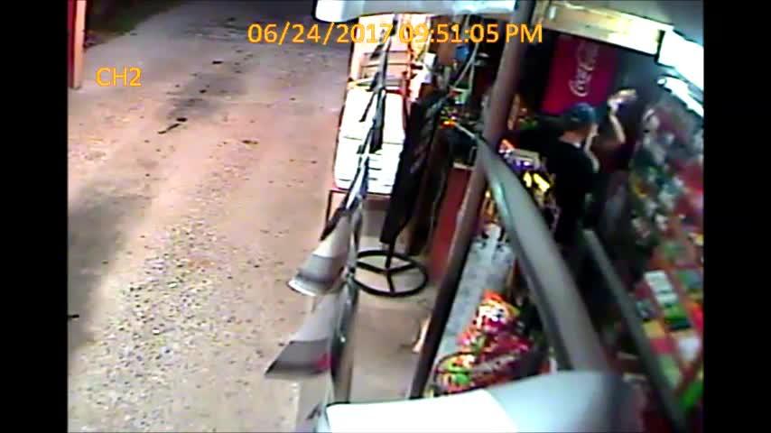 Drive Thru Robbery