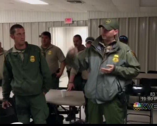 RGV Border Agents Deployed to Houston_73213011