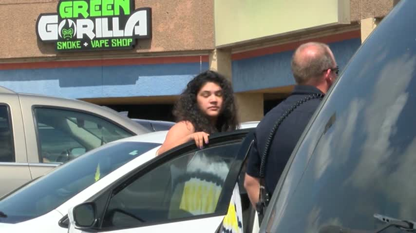 Mother Leaves Child In Hot Car