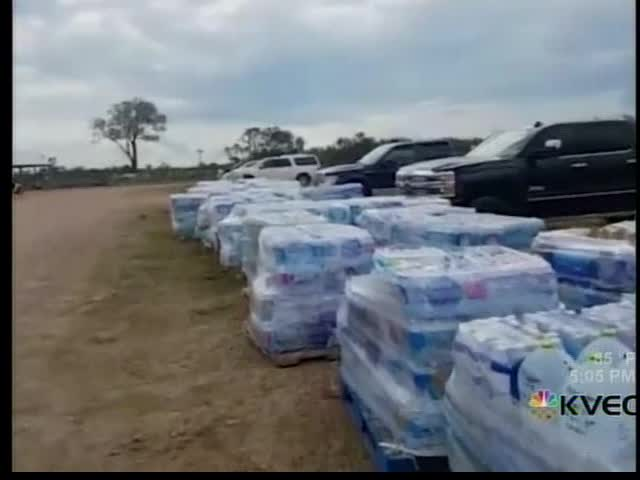 First Wave of Hurricane Relief from KVEO Complete