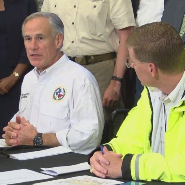 Gov. Greg Abbott warns about future possible flooding on Oct. 19, 2018