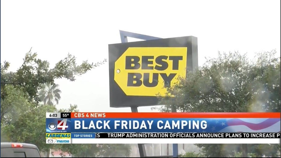 Lines Already Forming At Best Buy For Black Friday Deals Kveo Tv