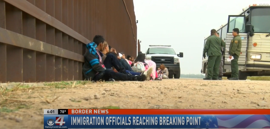 Migrant apprehensions along the border reaching record numbers in the Valley
