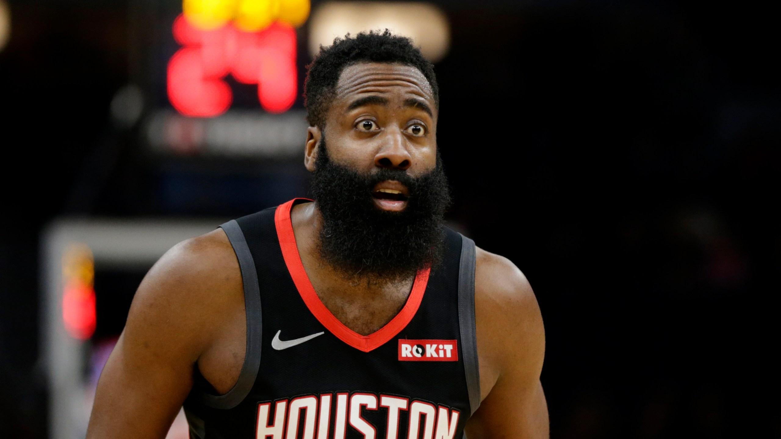Harden Scores 49 Points Rockets Beat Timberwolves 125 105 Kveo Tv