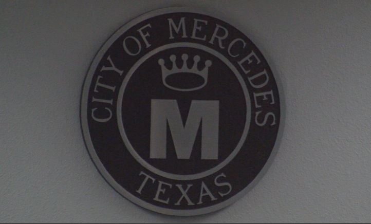 Mercedes City Hall Sign in Building Chambers.PNG
