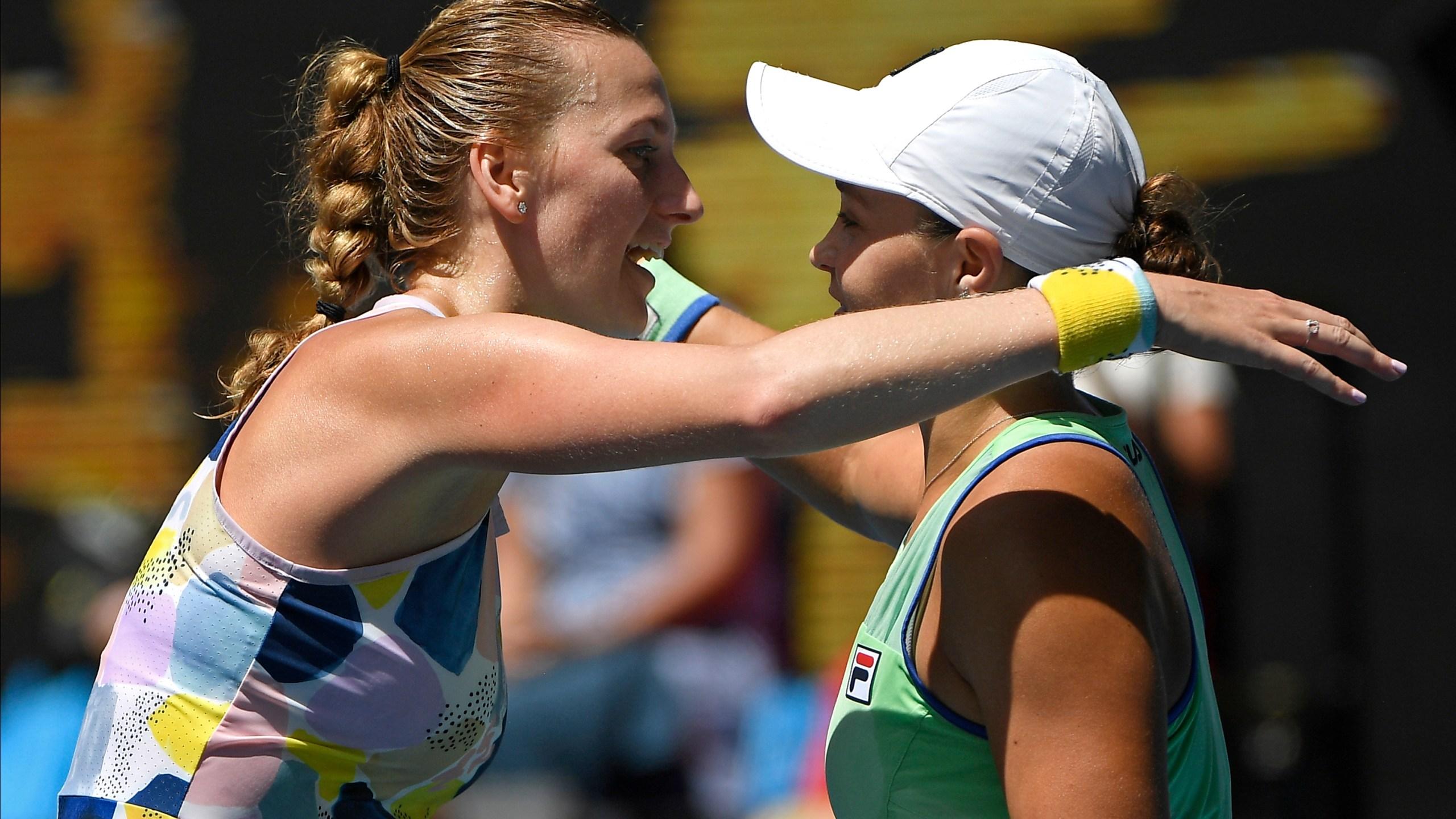 Ashleigh Barty, Petra Kvitova
