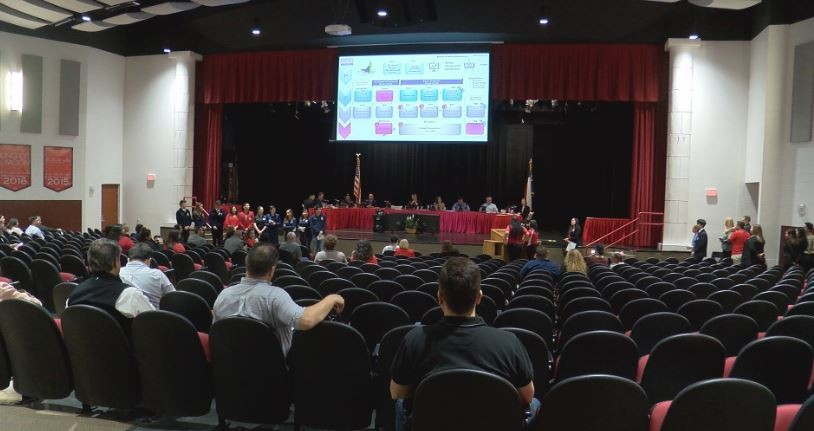Sharyland ISD School Board Meeting at Sharyland Pioneer Highschool on February 24 2020.JPG