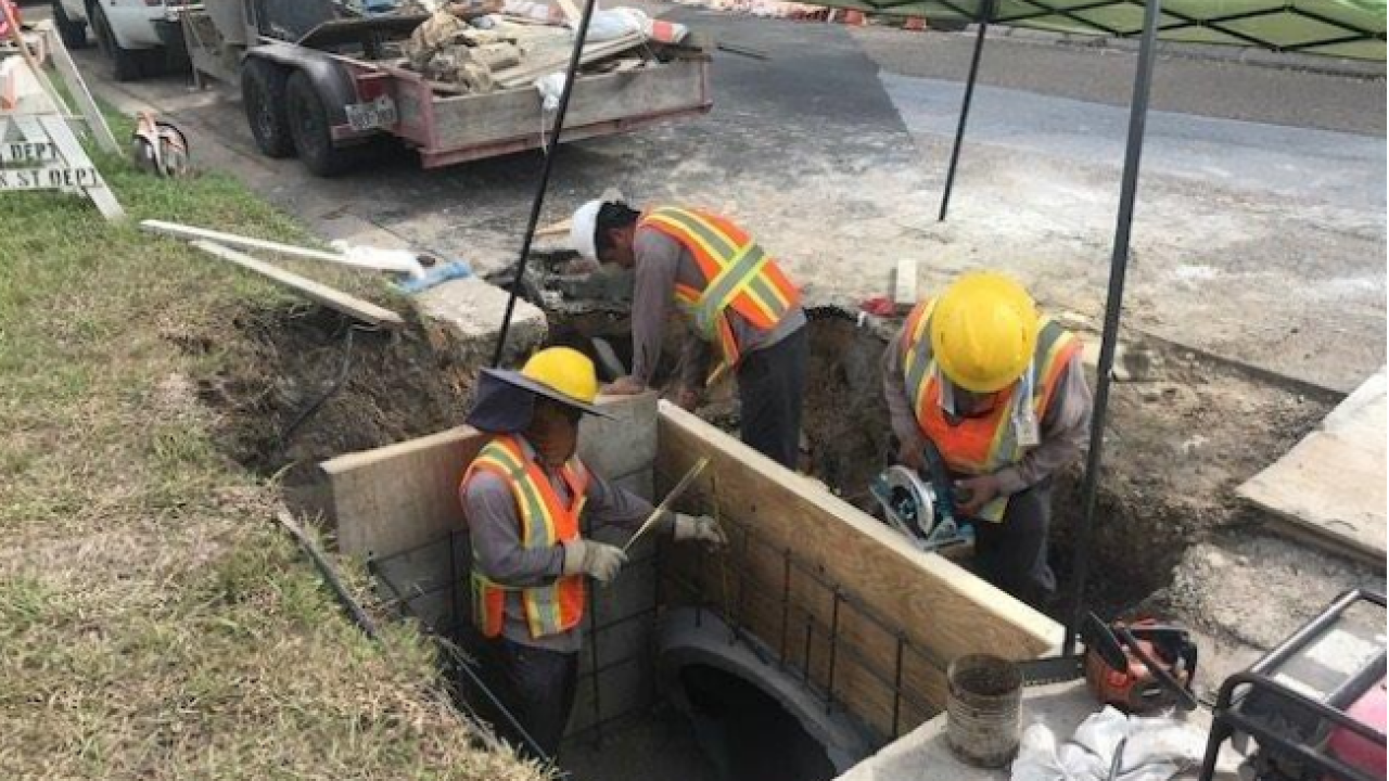 One year later, some flood projects remain under construction