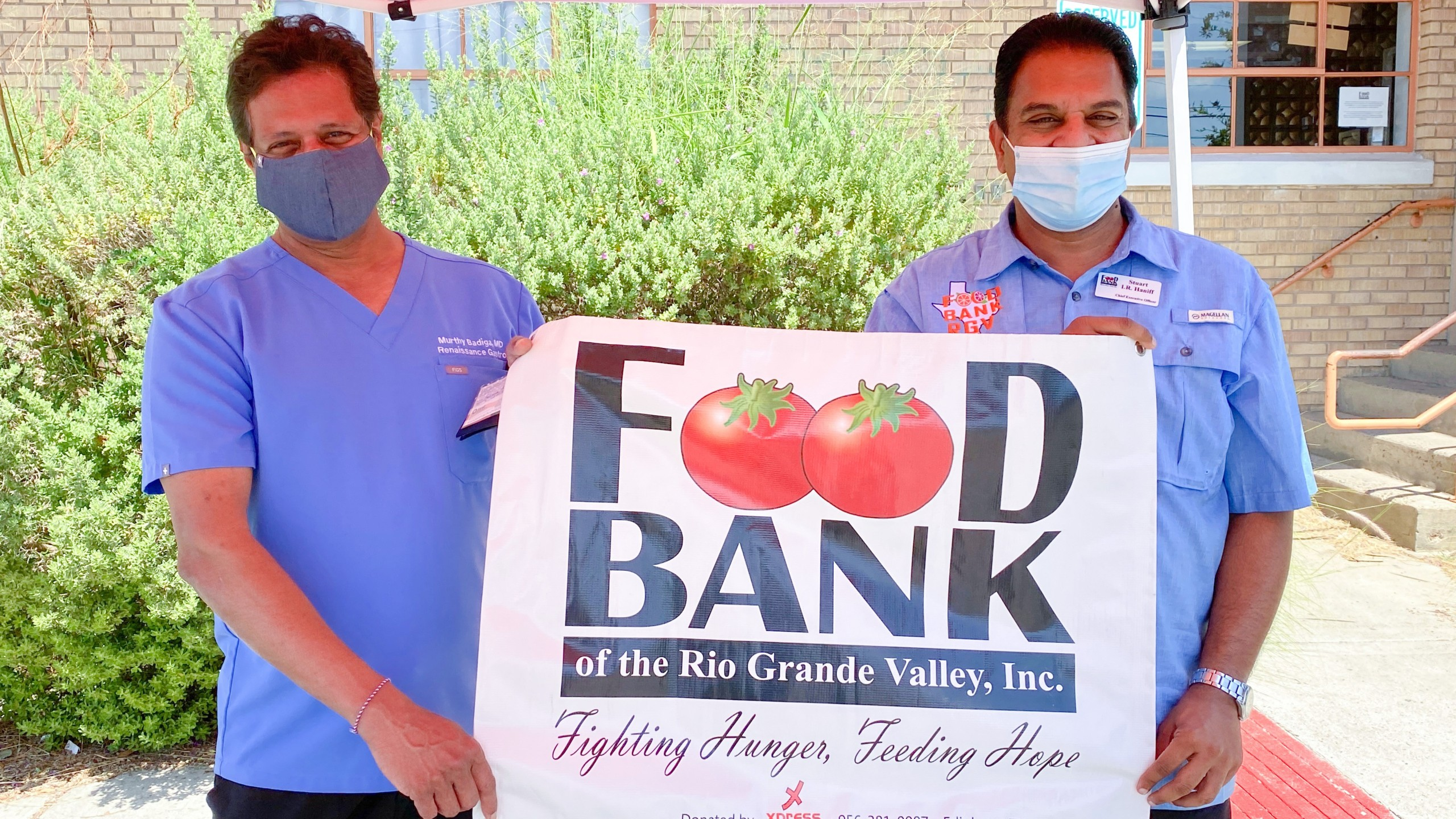 Doctor Provides 20 000 Meals To Food Bank Rgv Kveo Tv