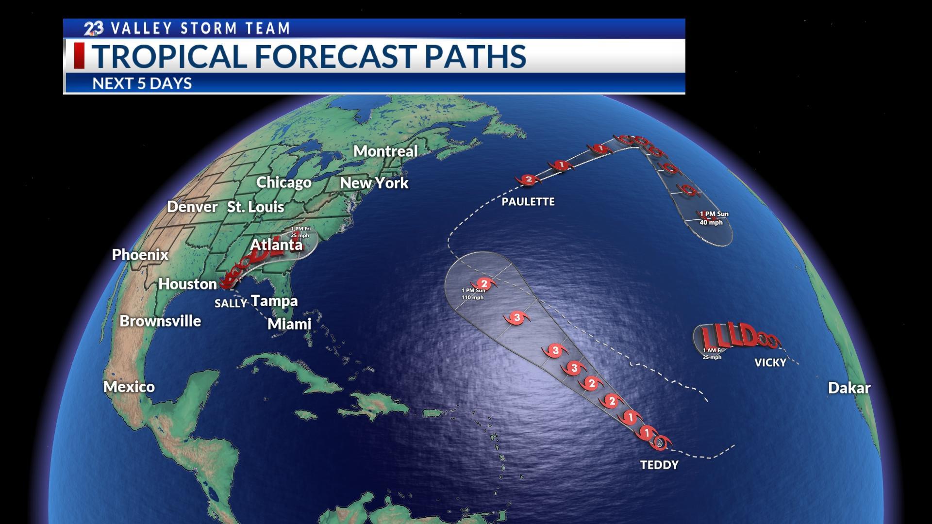 Hurricane Names Running Out Kveo Tv