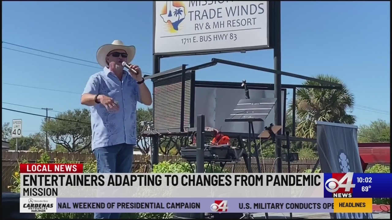 Pandemic affecting Winter Texan entertainers, how they are adapting