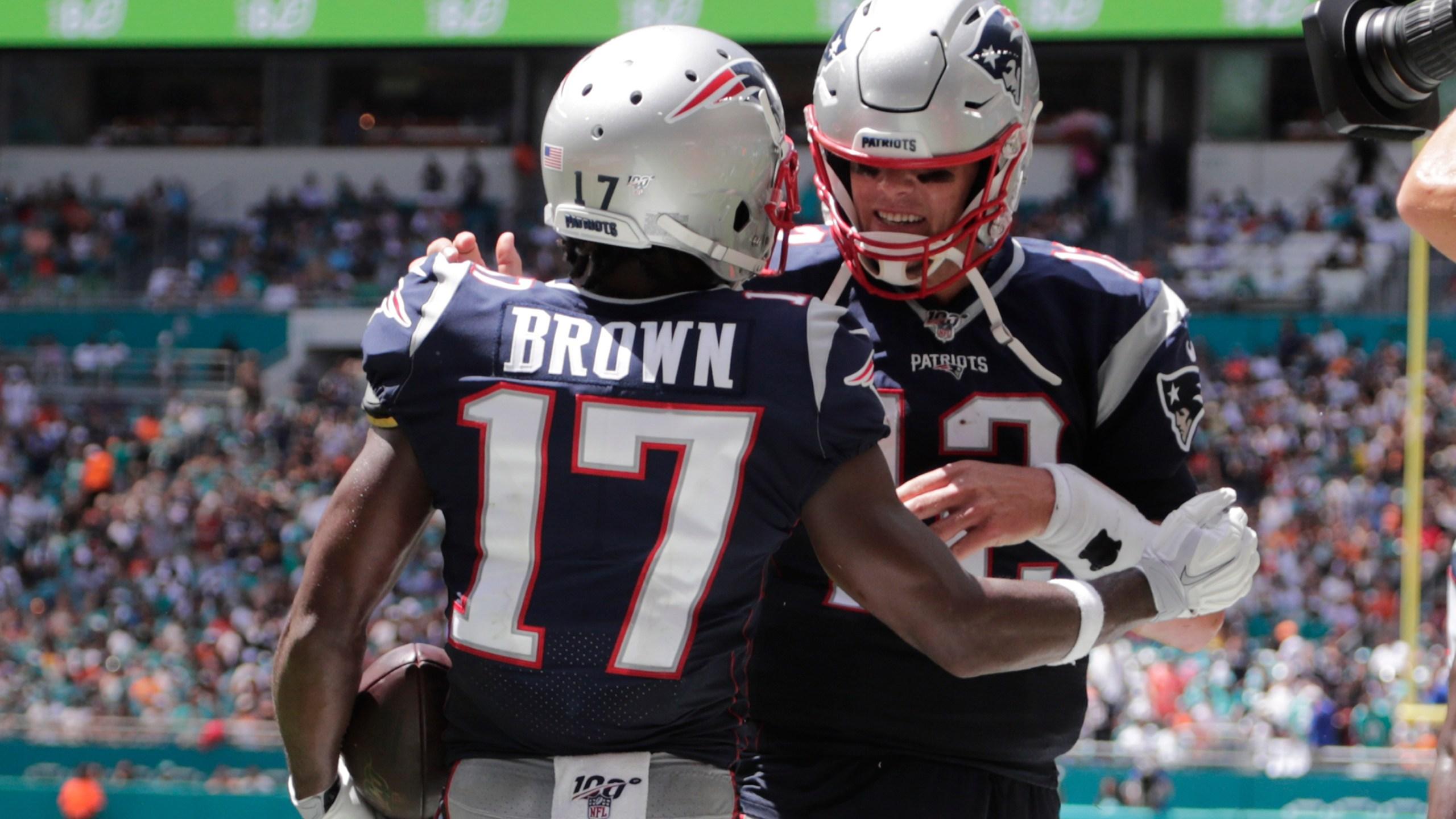 Tom Brady, Antonio Brown